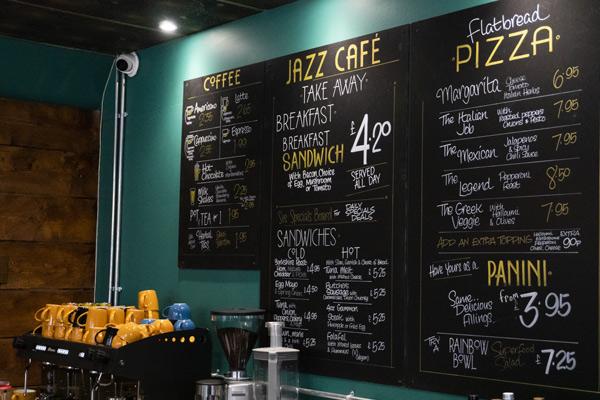 Jazz Cafe Home Image